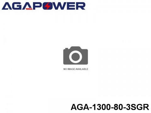 11 AGA-Power 80C Graphene Battery Packs AGA-1300-80-3SGR Part No. 88005