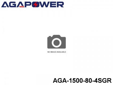 14 AGA-Power 80C Graphene Battery Packs AGA-1500-80-4SGR Part No. 88008