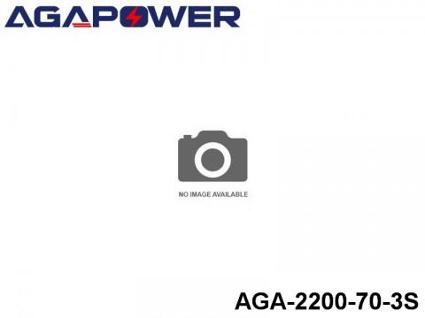 41 AGA-Power 70C Lipo Battery Packs AGA-2200-70-3S Part No. 87014