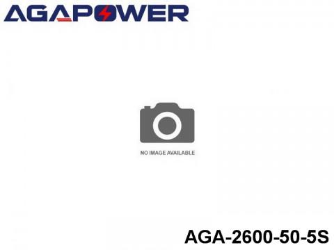 115 AGA-Power 50C Lipo Battery Packs AGA-2600-50-5S Part No. 85009