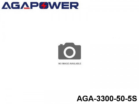 14 AGA-Power-50C RC Heli and Plane Lipo Packs 50 AGA-3300-50-5S 18.5 5S1P
