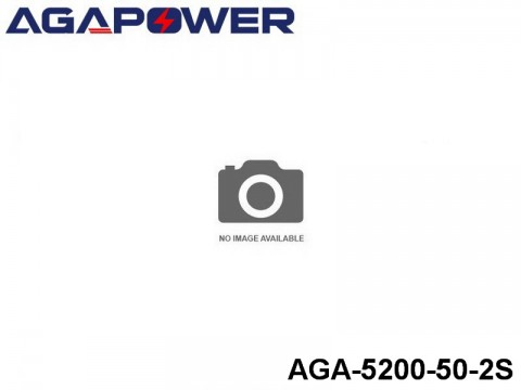 127 AGA-Power 50C Lipo Battery Packs AGA-5200-50-2S Part No. 85021