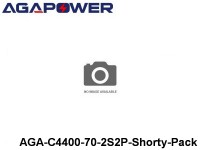 314 AGA-Power 70C Hard Case Packs AGA-C4400-70-2S2P-Shorty-Pack Part No. 67001
