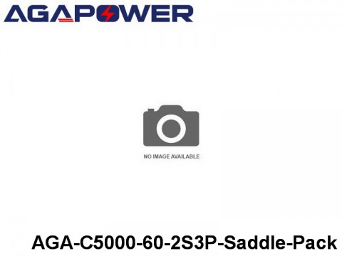 323 AGA-Power 60C Hard Case Packs AGA-C5000-60-2S3P-Saddle-Pack Part No. 66002