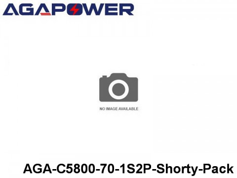 316 AGA-Power 70C Hard Case Packs AGA-C5800-70-1S2P-Shorty-Pack Part No. 67004