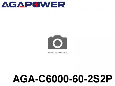 117 AGA-Power-60C RC Cars Lipo Packs 60 AGA-C6000-60-2S2P 7.4 2S1P