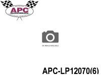 APC-LP12070(6) APC Propellers ( 12 inch x 7 inch ) - ( 304,8 mm x 177,8mm ) ( 6 pcs - set ) 686661120044