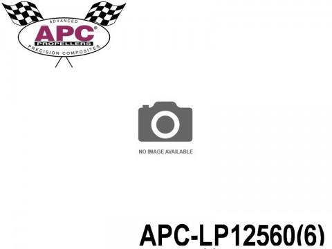 APC-LP12560(6) APC Propellers ( 12,5 inch x 6 inch ) - ( 317,5 mm x 152,4mm ) ( 6 pcs - set ) 686661120082