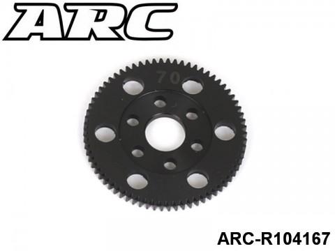 ARC-R104167 CNC Spur 70T (48dp)