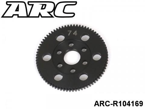 ARC-R104169 CNC Spur 74T (48dp) UPC