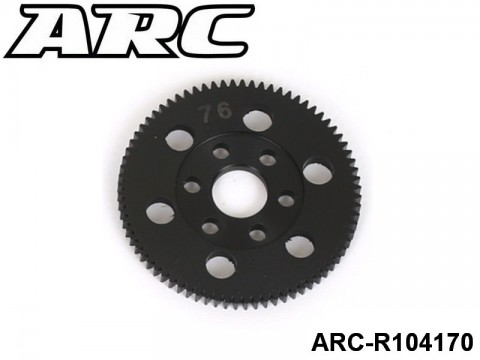 ARC-R104170 CNC Spur 76T (48dp) UPC