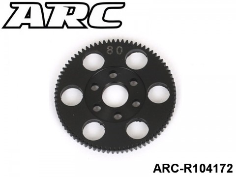 ARC-R104172 CNC Spur 80T (48dp)