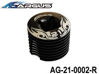 ARGUS 21RTR-PULL START Part 1 AG-21-0002-R Die casting Cooling Head with Button head set (1 pcs) ARGUS-AG21-0002-R