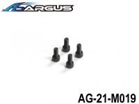 ARGUS 21RTR-PULL START Part 18 AG-21-M019 Backplate Cover Screw (4pcs) (1 set) ARGUS-AG21-M019