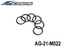 ARGUS 21RTR-PULL START Part 20 AG-21-M022 Carburetor 21 Lower O-Ring (6pcs) (1 set) ARGUS-AG21-M022