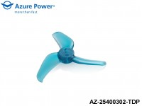 Azure Power AZ-25400302-TDP 2.5 4.0 (PC) 3 Blade Teal