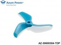 Azure Power AZ-30600304-TDP 3.0 6.0 (PC) 3 Blade Blue