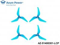 Azure Power AZ-51400301-LCP 5.1 4.0 (PC) 3 Blade Teal