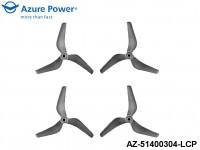 Azure Power AZ-51400304-LCP 5.1 4.0 (PC) 3 Blade Clear