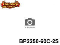36 BILLOWY-Power X5-60C Lipo Packs Series: 60 BP2250-60C-2S 7.4 2S1P