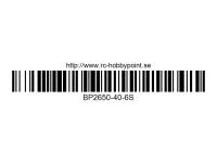 106 BILLOWY-Power X5-40C Lipo Packs Series: 40 BP2650-40-6S 22.2 6S1P