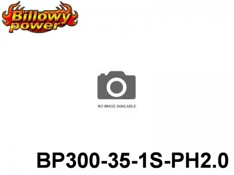 131 BILLOWY-Power X5-35C Lipo Packs Series: 35 BP300-35-1S1P