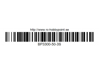 382 BILLOWY-Power X5-50C Lipo Packs Series: 50 BP3300-50-3S 11.1 3S1P