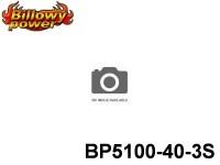 125 BILLOWY-Power X5-40C Lipo Packs Series: 40 BP5100-40-3S 11.1 3S1P