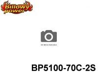 31 BILLOWY-Power X5-70C Lipo Packs Series: 70 BP5100-70C-2S 7.4 2S1P