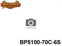 35 BILLOWY-Power X5-70C Lipo Packs Series: 70 BP5100-70C-6S 22.2 6S1P