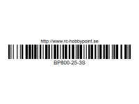 332 BILLOWY-Power X5-25C Lipo Packs Series: 25 BP800-25-3S 11.1 3S1P
