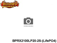 296 BILLOWY-Power Receiver Lipo Packs 20 BPRX2100LP20-2S-(LifePO4) 6.6 2S