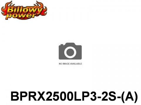 285 BILLOWY-Power Receiver Lipo Packs 3( BPRX2500LP3-2S-(A) 7.4 2S1P