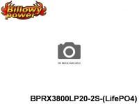 298 BILLOWY-Power Receiver Lipo Packs 20 BPRX3800LP20-2S-(LifePO4) 6.6 2S