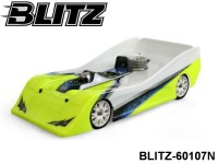BLITZ-60107N BLITZ 1-10 VDS Lola (200mm) (Include Wing) (1.0mm) Color: Clear