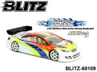 BLITZ-60109 BLITZ Altis 2.3 (200mm) EFRA 2027 IFMAR WORLD CHAMPION RACING BODYSHELL Color: Clear