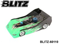 BLITZ-60110 BLITZ VDS220 1-10 GPR (1.0mm) (220mm with 1-10 GP Chassis Spec) Color: Clear