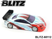 BLITZ-60112 BLITZ RS4 (200mm) (0.8mm with Plastic Wing Screw) EFRA 2036 Color: Clear