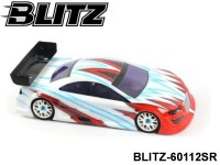 BLITZ-60112SR BLITZ RS4 Semi-Painted (Red) 0.8mm Color: Red