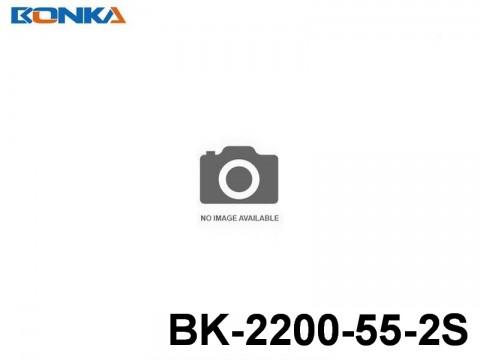 107 Bonka-Power BK Helicopter Lipo Battery 55C Standard BK-2200-55-2S