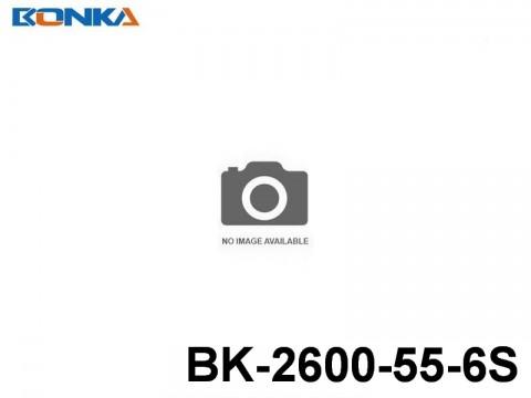 116 Bonka-Power BK Helicopter Lipo Battery 55C Standard BK-2600-55-6S