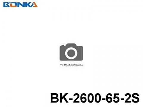 145 Bonka-Power BK Helicopter Lipo Battery 65C Standard BK-2600-65-2S