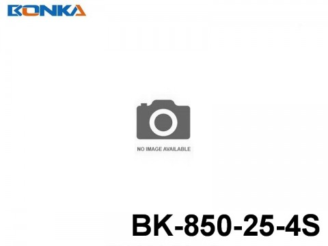 4 Bonka-Power BK Helicopter Lipo Battery 25C Standard BK-850-25-4S