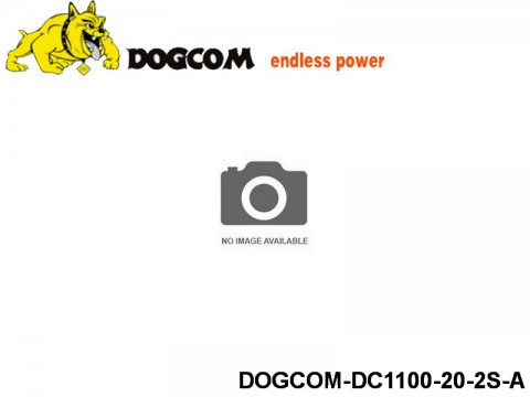 10 ASG Lipo battery packs DOGCOM-DC1100-20-2S-A 7.4 2S
