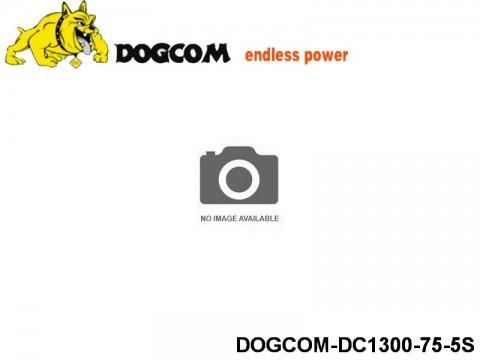 125 RC FPV Racer Regular Lipo Battery Packs DOGCOM-DC1300-75-5S 18.5 5S