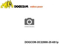 45 Multirotor Lipo Battery Packs DOGCOM-DC22000-25-6S1p 22.2 6S1P