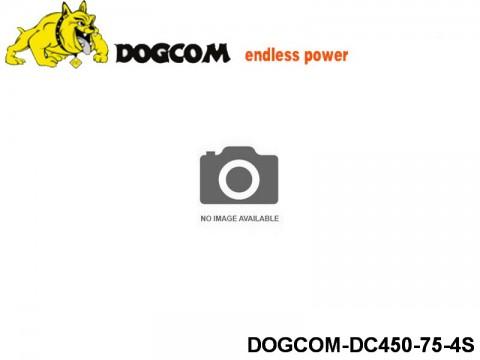 117 RC FPV Racer Regular Lipo Battery Packs DOGCOM-DC450-75-4S 14.8 4S
