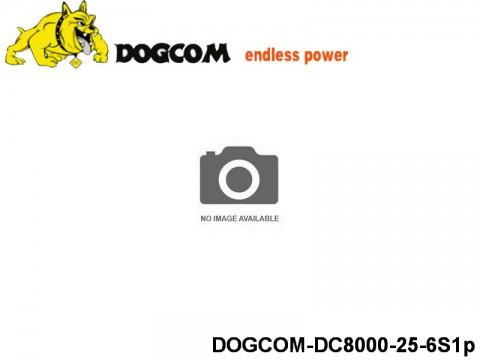35 Multirotor Lipo Battery Packs DOGCOM-DC8000-25-6S1p 22.2 6S1P