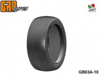 GRP-Tyres GB03A 1:8 BU - CUBIC - A Soft - Closed Cell Insert - Donut + Insert (1-Pair) 10-pack UPC: 802032725521 EAN: 8020327255213
