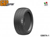 GRP-Tyres GB07A 1:8 BU - EASY - A Soft - Closed Cell Insert - Donut + Insert (1-Pair) 1-pack UPC: 802032725525 EAN: 8020327255251
